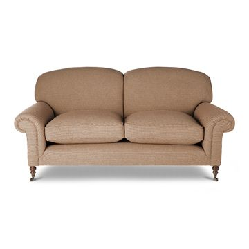 Bloomsbury 2.5 Seater Sofa in Argyll Check - Ember Red