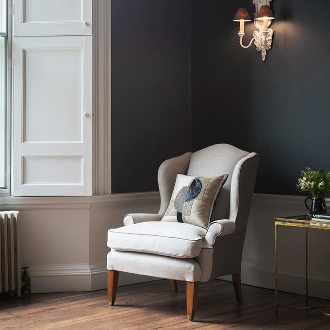 Club wing Chair - Beaumont & Fletcher