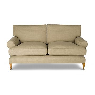 Marlborough 2.5 Seater Sofa in Argyll Check - Corn