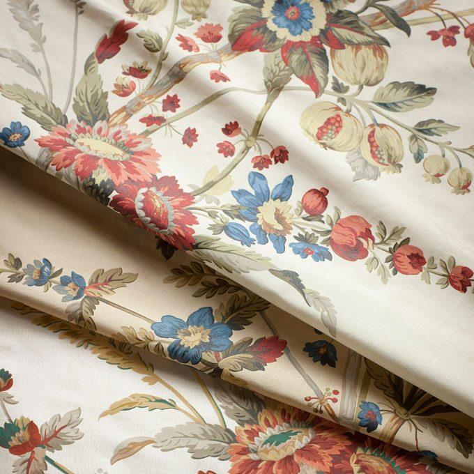 Amelia printed silk