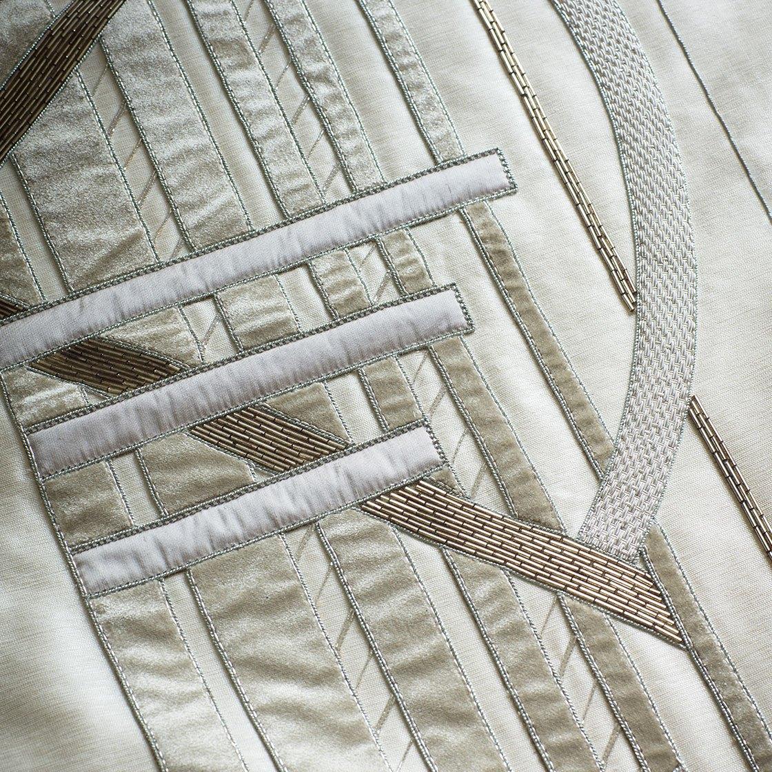 Audrey on Lagan Silk - Breeze - Beaumont & Fletcher - Beaumont & Fletcher
