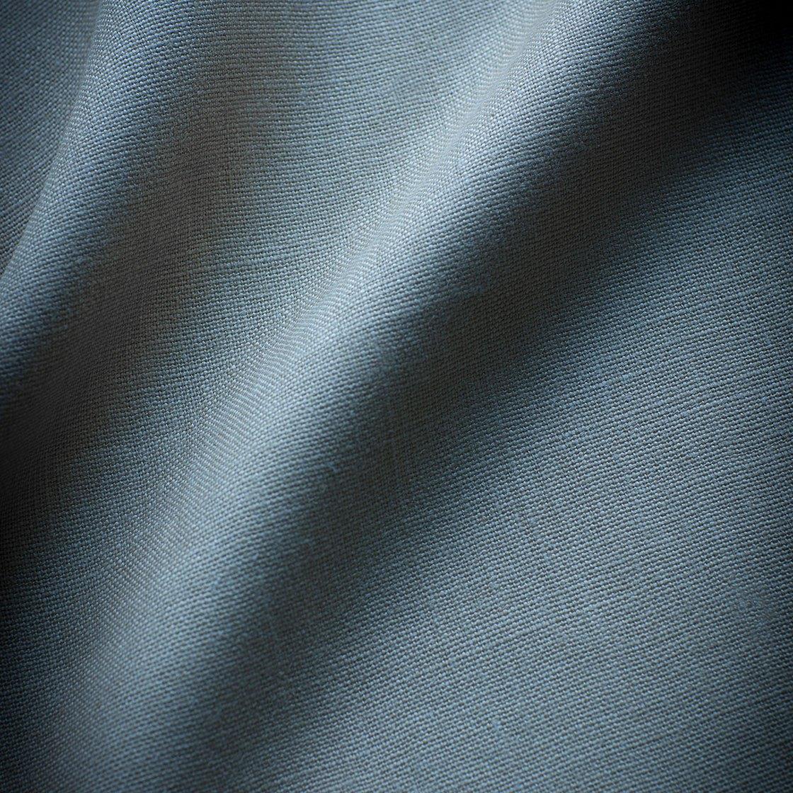 Bantry Linen - Cambridge Blue - Beaumont & Fletcher - Beaumont & Fletcher