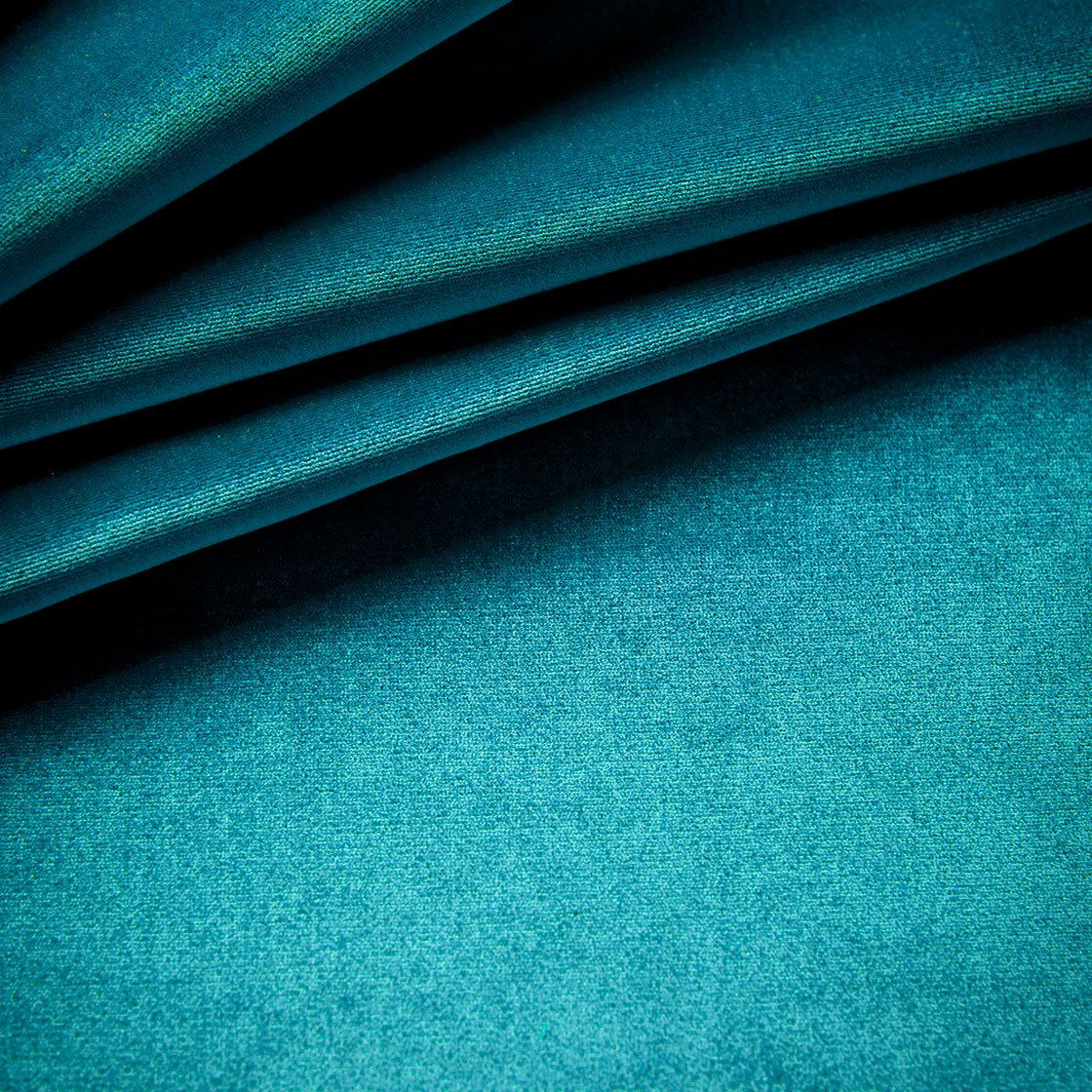 Capri Silk Velvet - Aquamarine - Beaumont & Fletcher - Beaumont & Fletcher