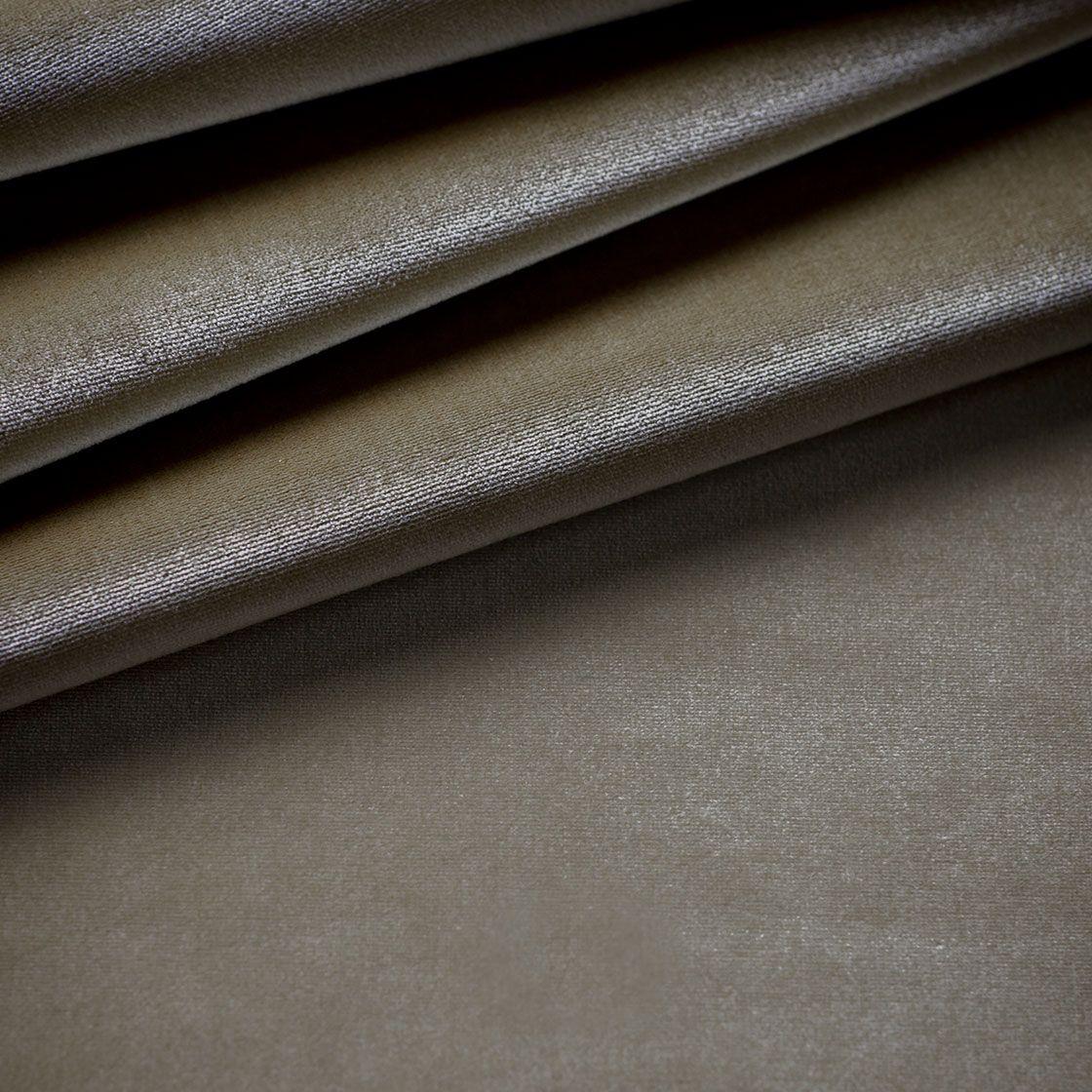 Capri Silk Velvet - French Grey - Beaumont & Fletcher - Beaumont & Fletcher