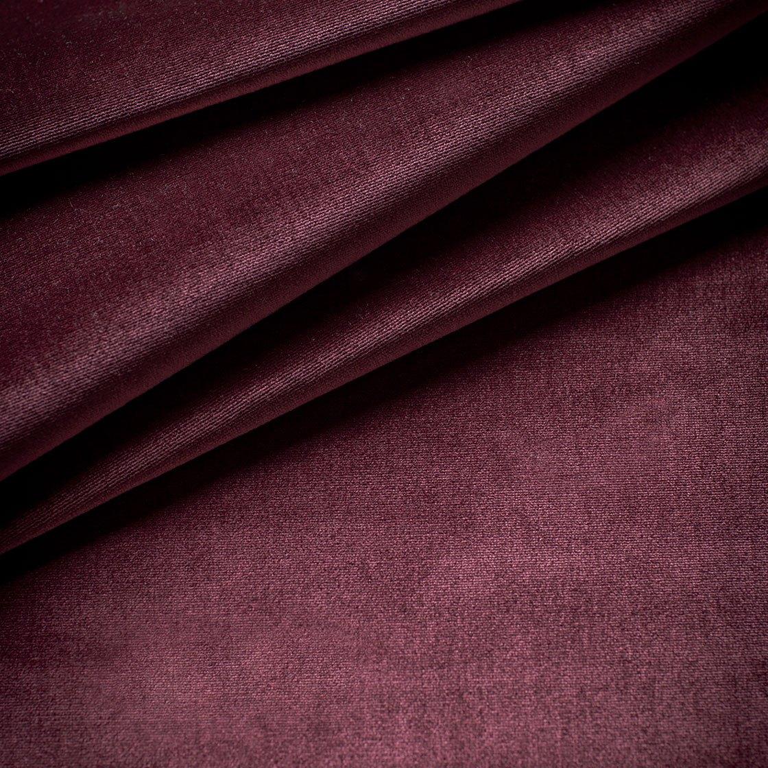Capri Silk Velvet - Loganberry - Beaumont & Fletcher - Beaumont & Fletcher