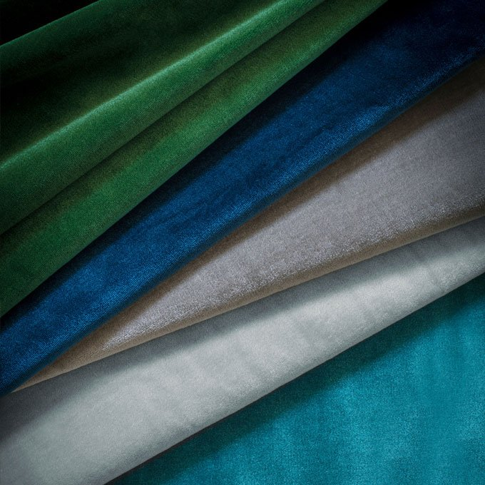 Capri silk velvet