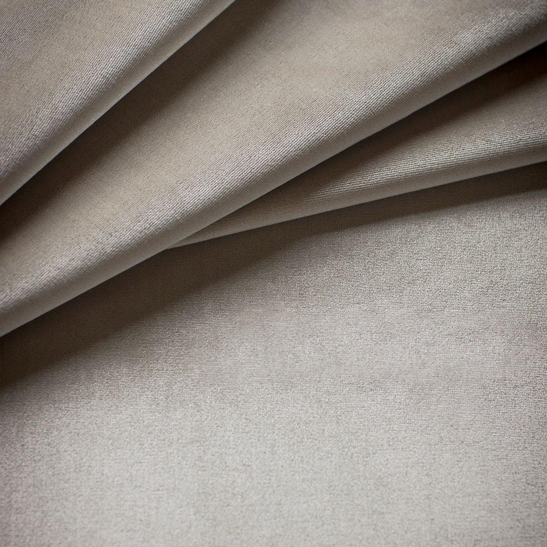 Capri Silk Velvet - Vanilla - Beaumont & Fletcher - Beaumont & Fletcher