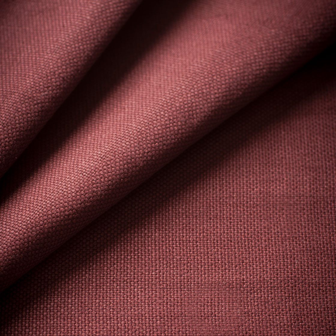 Donegal Linen - Garnet - Beaumont & Fletcher - Beaumont & Fletcher