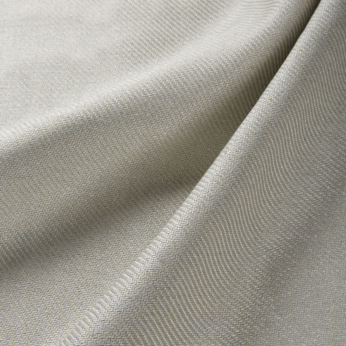 Novara Linen - Pearl Grey - Beaumont & Fletcher - Beaumont & Fletcher