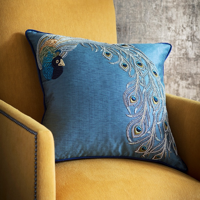 Pavo Cushion - Beaumont & Fletcher