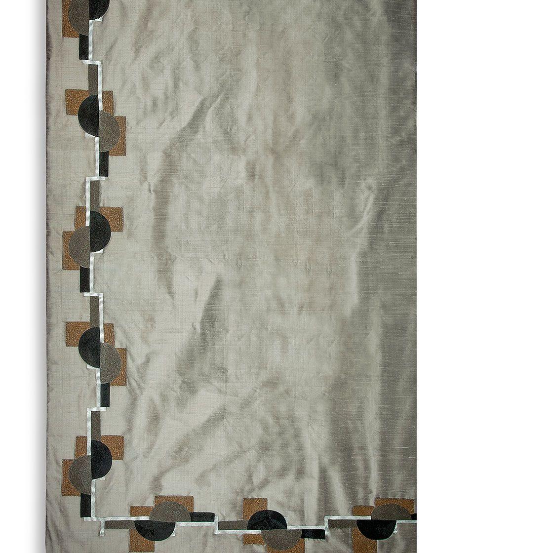 Piet on Erne silk - Silver Birch - Beaumont & Fletcher - Beaumont & Fletcher