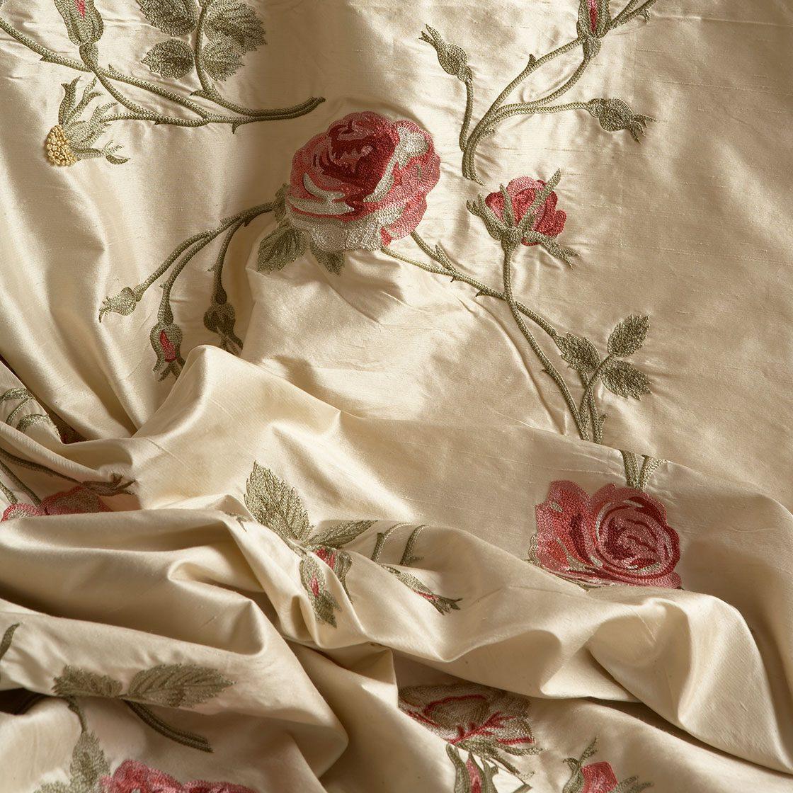 Rosewalk - On Plain Silk Alabaster - Beaumont & Fletcher - Beaumont & Fletcher