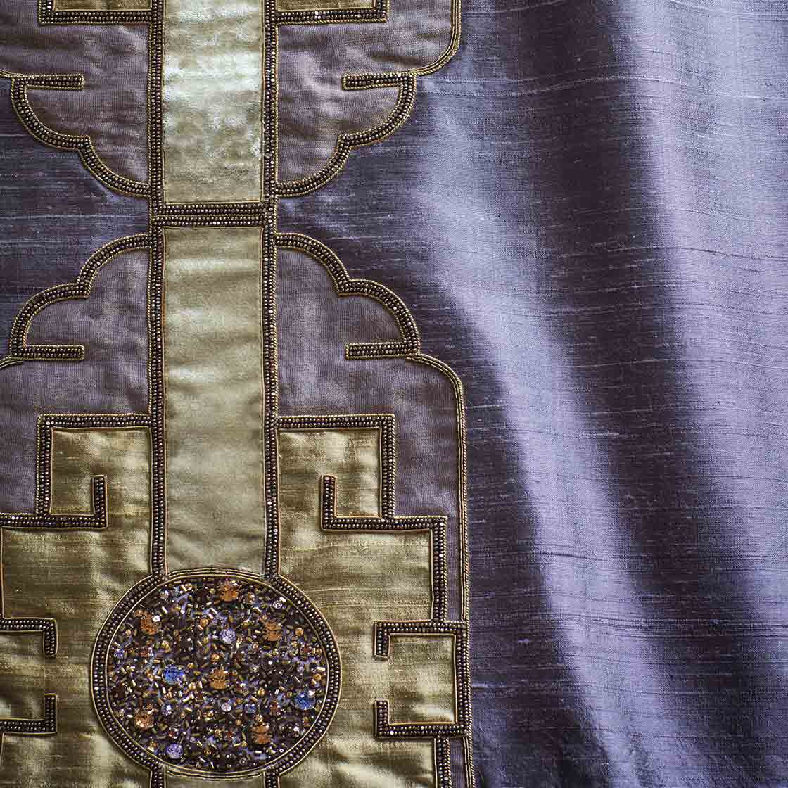 Tamburlaine on Erne silk - Amethyst - Beaumont & Fletcher - Beaumont & Fletcher