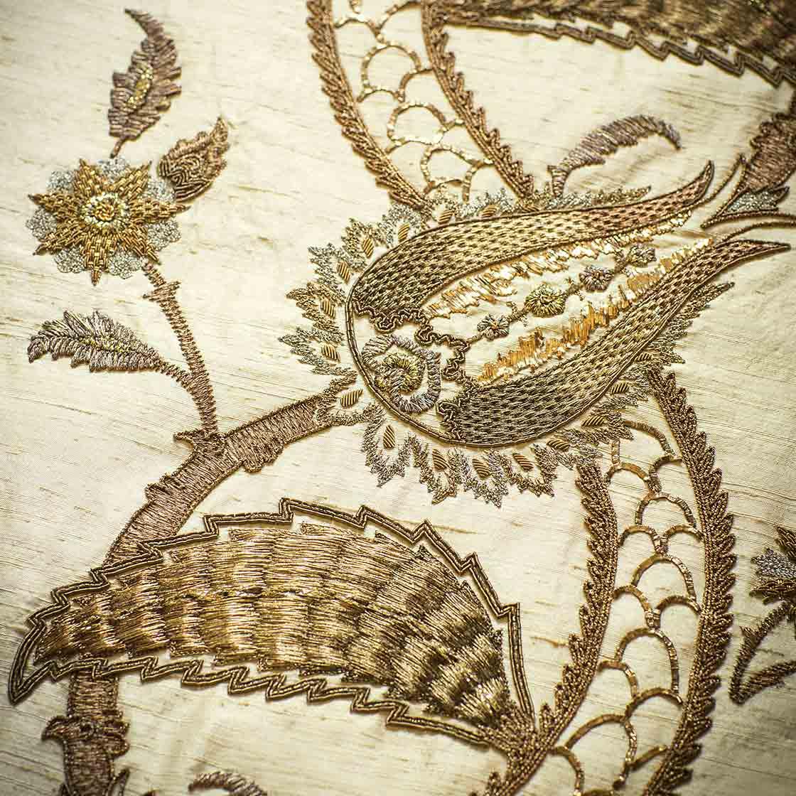 Tuana on Erne silk - Magnolia - Beaumont & Fletcher - Beaumont & Fletcher